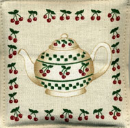 OP-Spiced Mug Mats Cherry Design