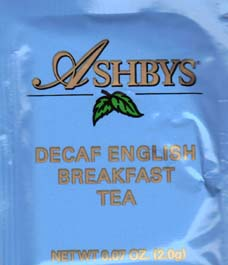 Ashbys English Breakfast Decaf Tea