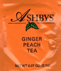 Ashbys Ginger Peach Tea